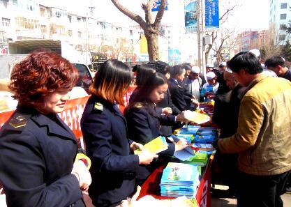 """甘肃省和政县开展""""12331""""食品药品安全活动 投诉举报维权"""