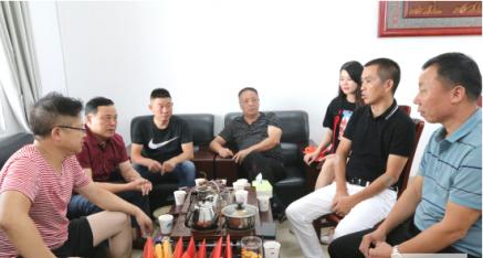 柳州邵阳商会值班领导走基层 会员企业一片光明