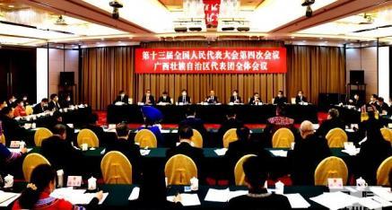 国务院总理李克强在参加广西代表团审议